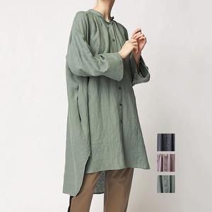 FLORENT(フローレント) Linen Shirt Dress 2021春物新作   [送料無料]