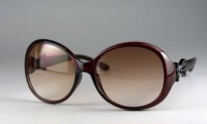 レディースファッションサングラス6147[ハードケース付き]