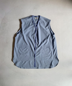 HOMELESS TAILOR BARBER VEST SLATE
