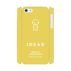 IDEAS/iPhone5/5s/SEケース 800-イエロー