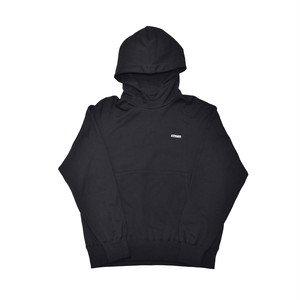 EXTRALESS Extraless Logo Type Hoodie Black EX19SS0007