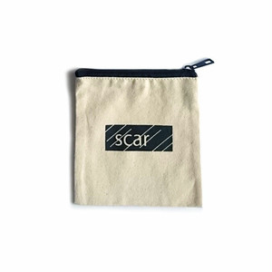 scar /////// BLACK BOX TOOL POUCH (XS) (Natural)