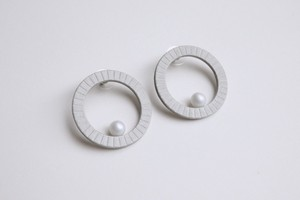 P -HOOP PIERCE 【GRAY】