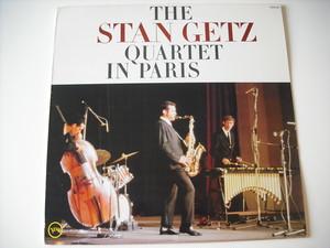 【LP】STAN GETZ  QUARTET / IN PARIS