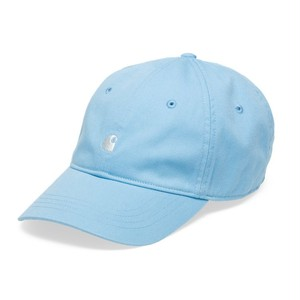 carhartt / MADISON LOGO CAP - Aquamarine / White