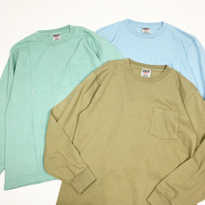 ONEITA / LONG SLEEVE POCKET T-SHIRT