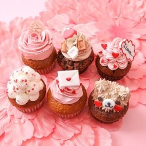 バレンタイン限定カップケーキ6個セット