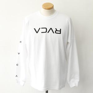 【RVCA】FLIP RVCA LS TEE (WHITE)