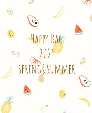 Happy  Bag(2021/ss)