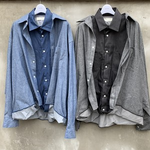 "NEON SIGN  ""Sandwich Denim Shirts"""