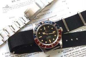 WMT WATCH Panton Blue/Red Bezel Mirror Dial (NH35)