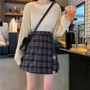 【お取り寄せ商品♡】チェックラップスカート  day090