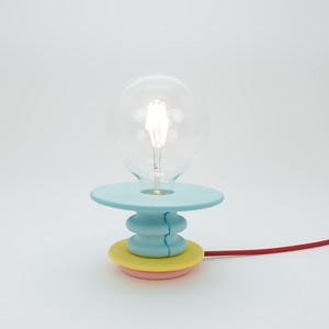 マルチカラーテーブルランプ|Frutti Lamp