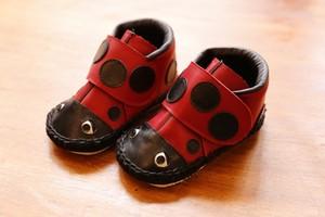 てんとう虫の子ども靴 13センチ