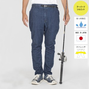 """The Fishing Together""  STRETCH DENIM EASY PANTS  BW-301VM"