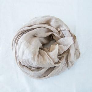 くるみ染めりすスカーフ