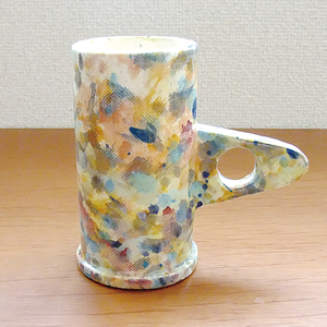 "Echo Park Pottery ""Tall Mug"" Splattered"