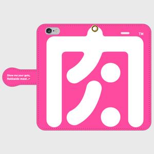 手帳型iPhone6/6sケース(肉食女子用)