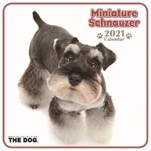 300円値下げしました THE DOG ミニカレンダー Mシュナウザー 2021年 令和3年