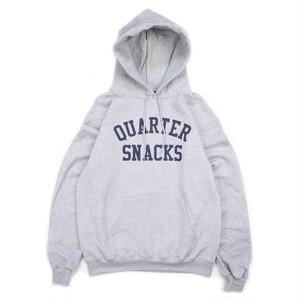 Quarter snacks CHAMPION VARSITY BLOCK HOODIE GREY