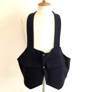 BSQ Backpack Vest Black