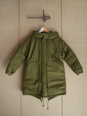 THE MERMAID / Mods Down Coat (KHAKI)