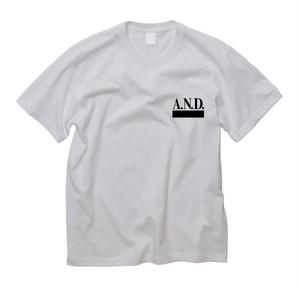 A.N.D.A.N.D.  STANDARD  S/S T WHITE