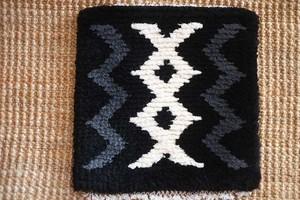 倉敷ノッティングー手織りの椅子敷ー