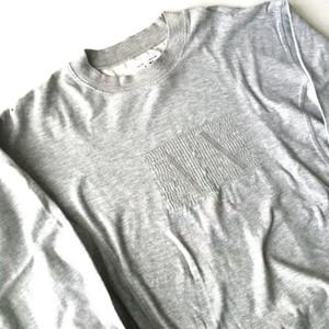 ARMANI EXCHANGE : logo embroidery sweat shirt (used)