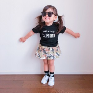 ★Kids★ SURF.ALLDAY CA Tee - Black