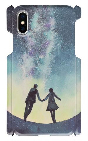 すずきあやえ Design - E スマホケース iPhone X