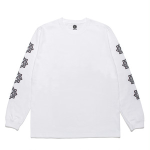 受注商品 MASTERMIND LOGO LONG SLEEVE T-SHIRT / WHITE