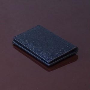 ARI BLACK / PINETTI DOUBLE BUISINESS CARD HOLDER(アリ ブラック / ピネッティ ダブルビジネスカードホルダー)