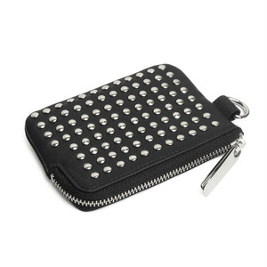106AWA08 Leather coin case 'all-studs' コインケース