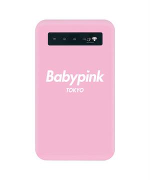 BabypinkTOKYO Mobile battery PNK