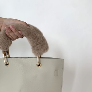 Fur handle for BAG