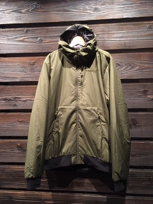 Norrona  roldal Inslated hood JKT Olive Night