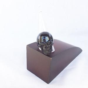 髑髏 ドクロ ガイコツ ブラック 黒 BLACK 指輪 リング 10号 11号 12号 13号 ヒップホップ HIPHOP 1333