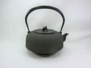 鉄瓶 新万代アラレ(黒) 1.4L