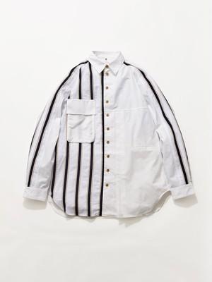 KHOKI Moon Shirt White 20AW-B-03