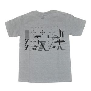 【セール中】【オフィシャルTシャツ】禁断の多数決第4期ロゴ(グレー×黒)KDNT021