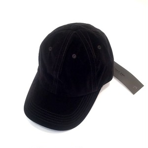 Velours Cap Black