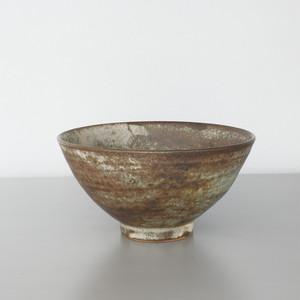 二井内覚|飯碗(鉄マット) Satoru Niinai rice bowl
