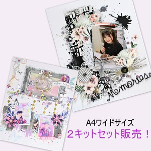 『picture perfect』『Memories』A4ワイド★2キットセット販売!