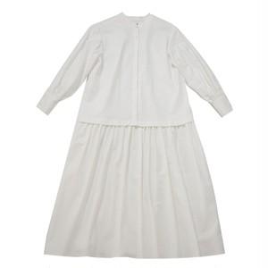 【予約】flannel cutting dress