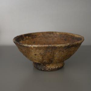 稲吉善光|鉄釉飯碗 Yoshimitsu Inayoshi iron-glazed rice bow
