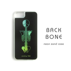 バックボーンネオンサンドiPhoneケース[大きいサイズ]
