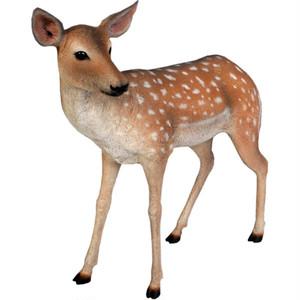 小鹿 FRPアニマルオブジェ fr110108