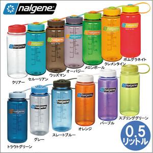 ナルゲン ウォーターボトル 広口 TRITAN-0.5リットル NALGENE キャンプ用品 水筒 ウォーターボトル