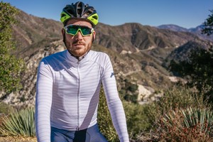 TEAM DREAM BICYCLING TEAM / Thin Stripe Long Sleeve